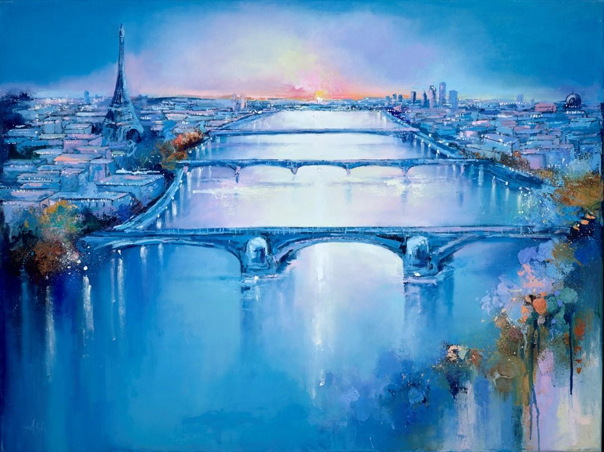 Paris Sunset II